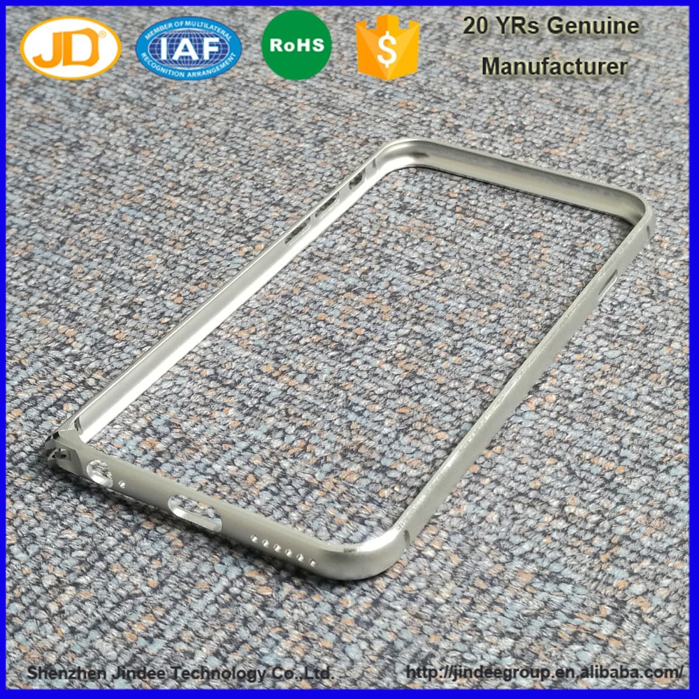 China Supplier Factory Price CNC Precision Aluminum Bumper Case for cell phone/mobile phone