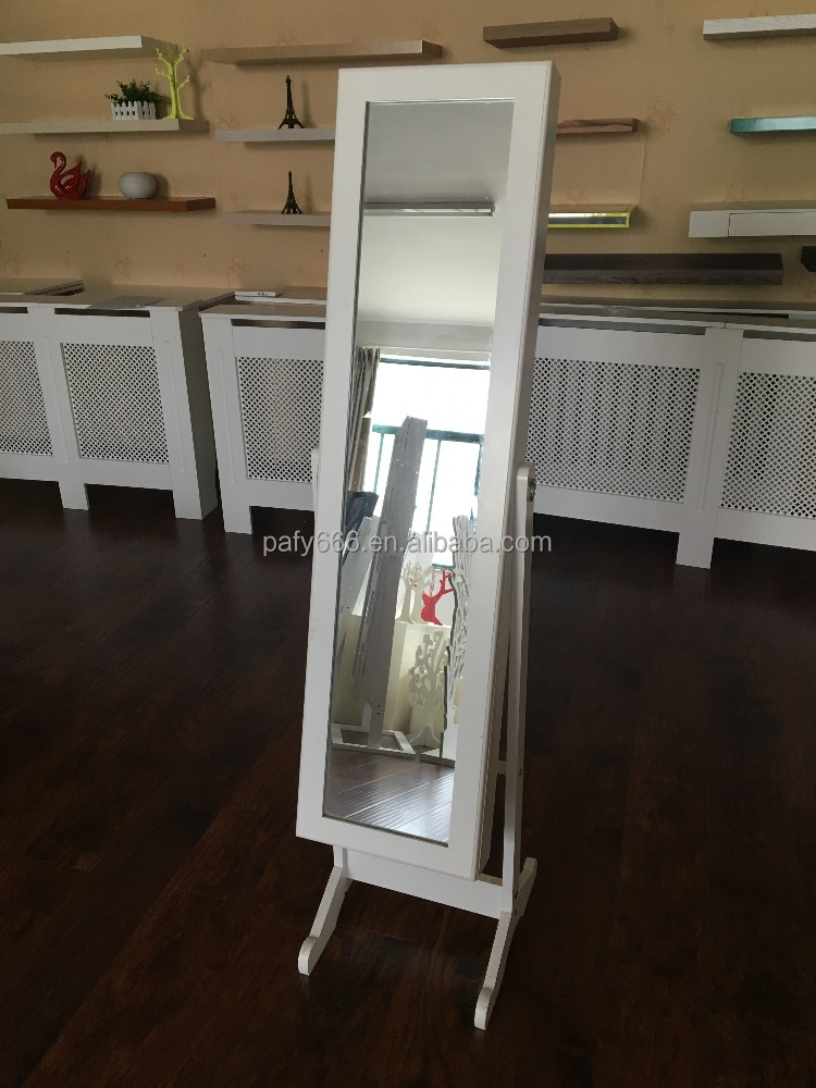 morden barato espejo de tocador espejo de marco de madera con espejo de de caja