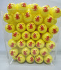 high quality color yellow decorative golf crystal ball