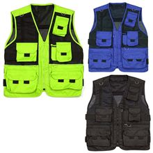 Mens hunting shooting hiking fishing vest