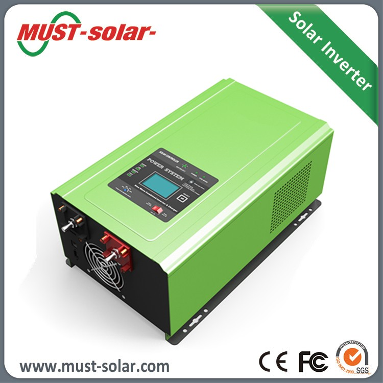 Must Pure sine wave power inverter 2000w solar Power inverter 12V <strong>dc</strong> to 220V ac Power inverter