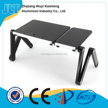 New aluminum cheap laptop stand desk with folding legs