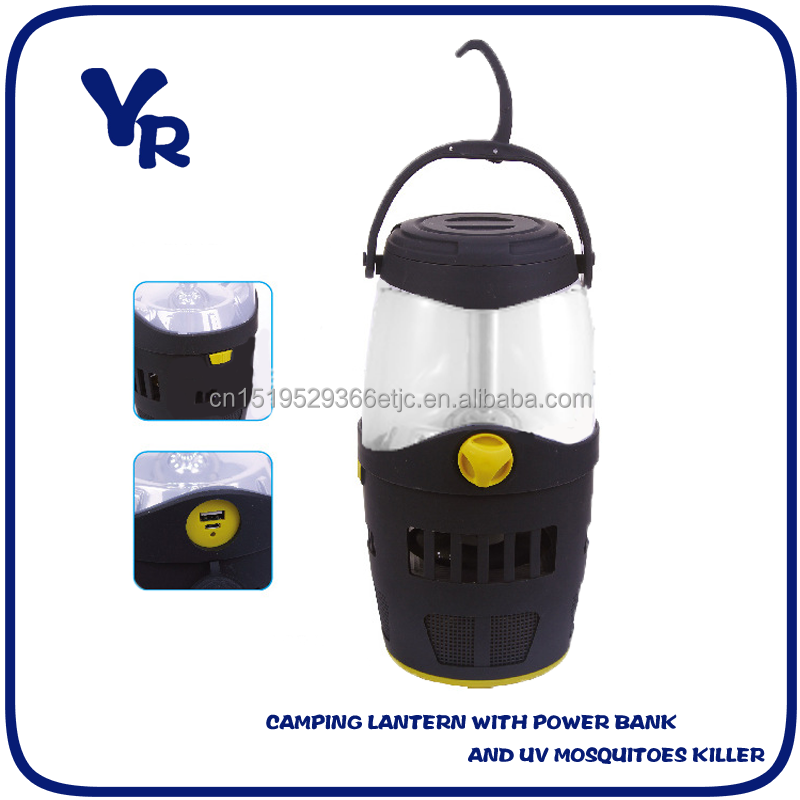 power bank and UV mosquitoes killer Camping Lantern