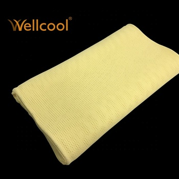 ps light yellow 3d nursing baby pillow head shaping