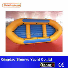 CE Certificate Reinforced Bottom River Whitewater Rafting Boat For Sale