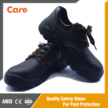 Buffalo leather PU sole working safety boots steel toe shoes