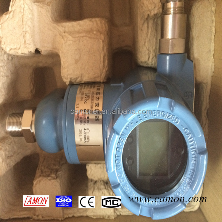 china smart digital 3051 4-20ma capacitive oil pressure transducer with cheap price