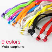 Candy Color In-Ear Earphones Earbuds Headset With Mic For all phone Multicolor