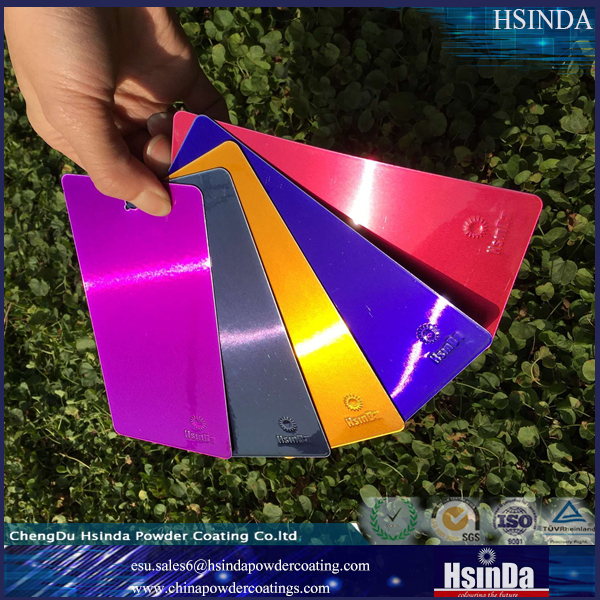candy metallic powder coating color paint