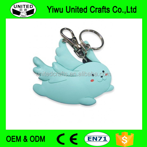 Customized Fashion Soft PVC Keychain Promotional Keyrings Gifts Custom Key chains Personalized Keyrings