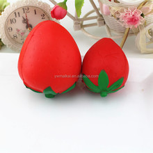 High quality super soft squishy slow rising 10cm strawberry <strong>toy</strong>