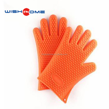 JianMei brand high quality Heat Resistant Kitchen Silicone Cooking Gloves