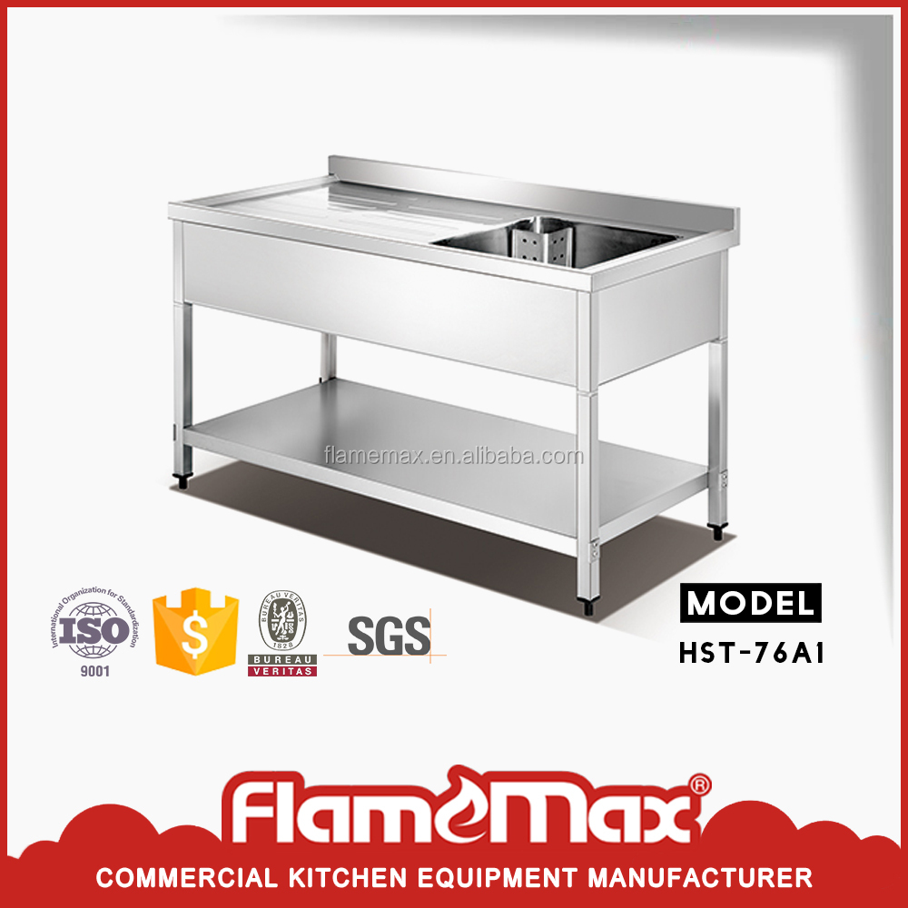 New style China Wholesale Kitchen Outdoor Stainless Steel Sink Table