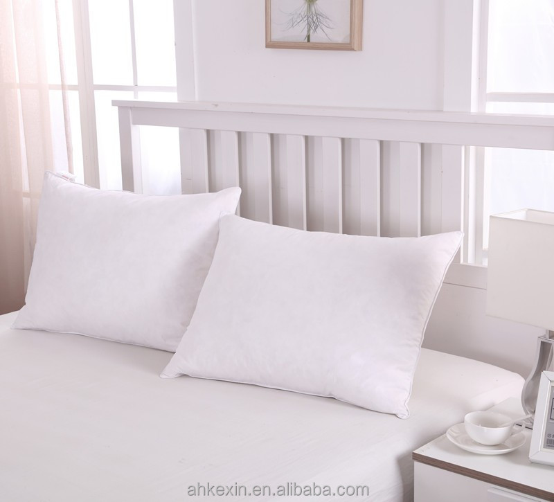 Wholesale down proof cotton goose feather hotel life pillow