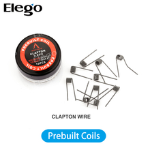 Elego Hot Resistance wire Prebuilt Coils of Clapton wire/Fused clapton /Alien /Mix twisted /Tiger /Hive /Flat twisted Wire
