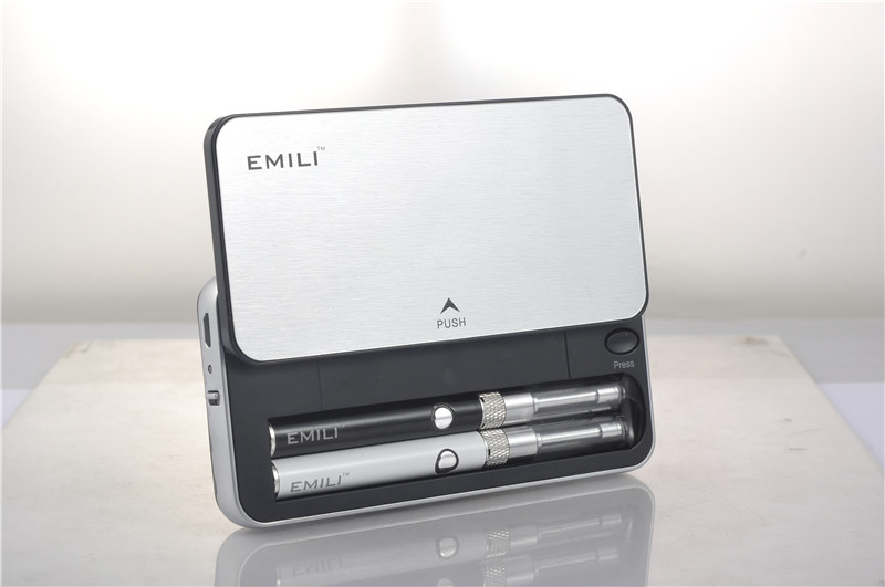 Best patented portable starter kit Emili with 1300mAh charging case