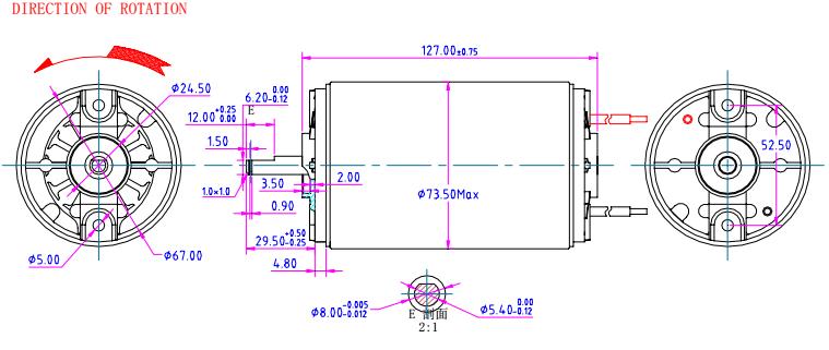 Small Electric 12v Dc Motor 24v 48 24 12 Volt 3 5 6 9 18