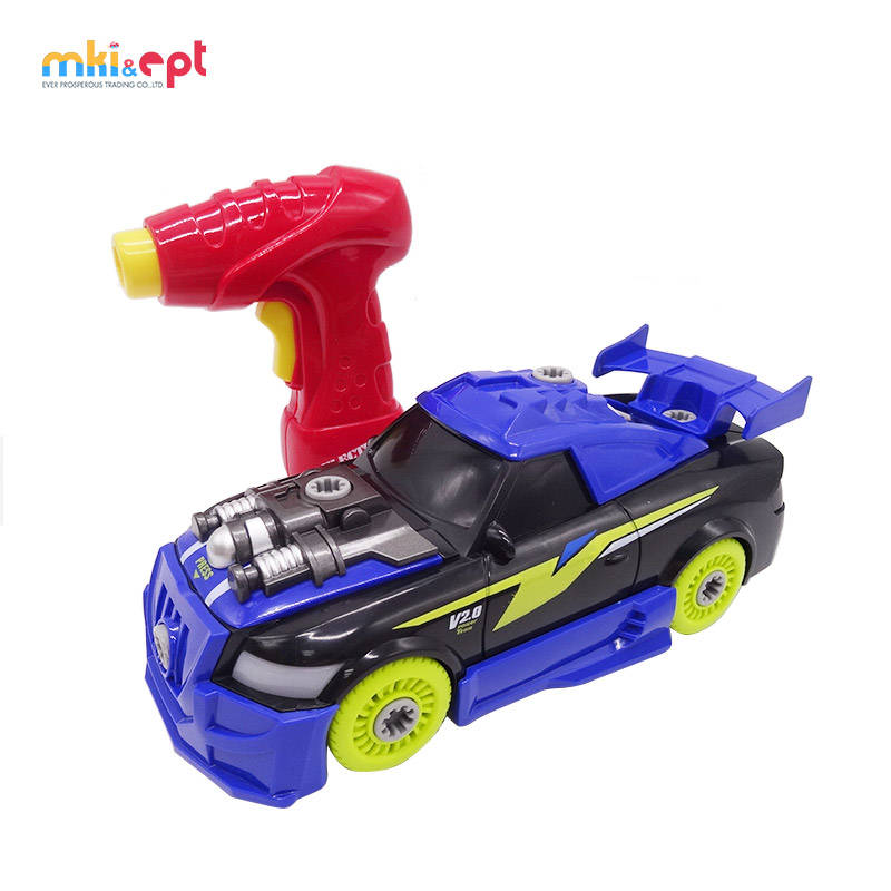 26 Of Set 2 IN 1 Self Assembly Racing Car Kit For <strong>Kids</strong> With Electric Toy Drill