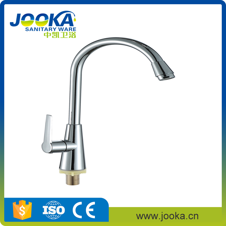 Factory supply single handle kitchen faucet water tap