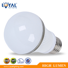 High efficiency IP20 led bulb lamp energy saving smd E27 led bulb 5w