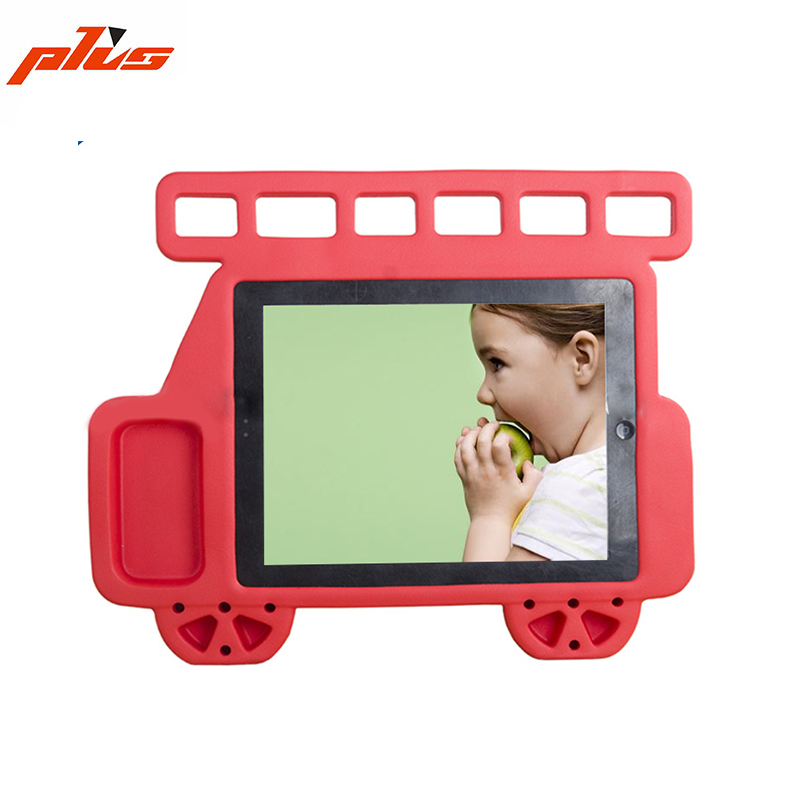 Hot Sale Cute Child Handle Protective Car Shape EVA Foam Stand Cover for iPad pro 12.9 inch
