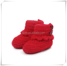 The cute fashion knitting beauty baby sandal
