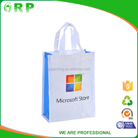 Top quality reusable logo printed pp non woven giveaway promotional bag