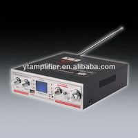 New! Lcd display small amplifier with FM YT-K06 mini digital amplifier hearing enhancement system