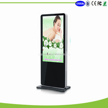 floor stand six vedio media ad player HD lcd ad player with android system
