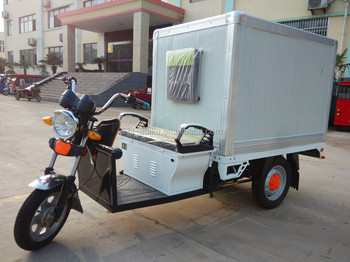 Electric refrigerated vehicles/three wheels tricycles for refreshing-preservation/milk floating/fresh food deliver 3100006