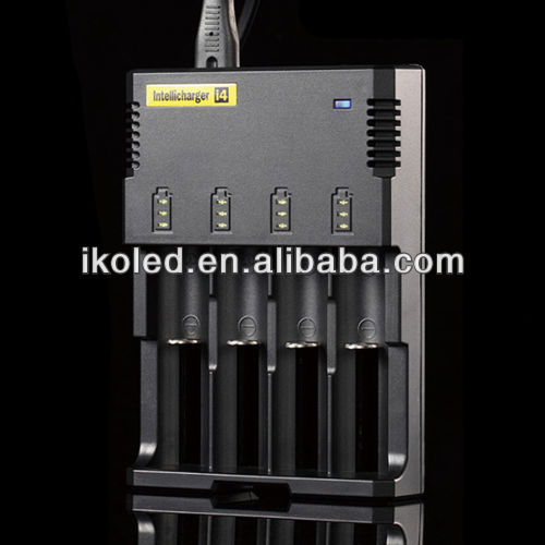 Free Shipping Nitecore Battery Charger for 18650 16340 26650 10440 AA AAA 14500 Battery Charger Nitecore I4 Charger