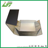 high quality customized folding board box ivory board with competitive price