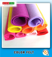 Children DIY material soft textile nonwoven fabric polyester needle felt