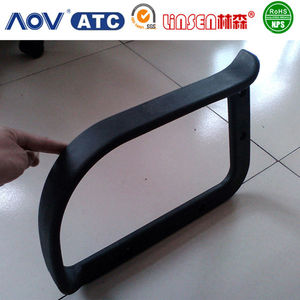 Wholesale price professional OEM supplier self-skinning pu wheelchair armrest