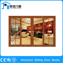 Wide varities office aluminum sliding doors double glazed partition doors systems