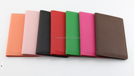 Wholesale PU leather ticket passport holder certificate cover
