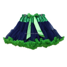 China Manufacturer Clothing Baby Tutu Skirt Wholesale Green Blue Kid Girl Tutu Pettiskirt