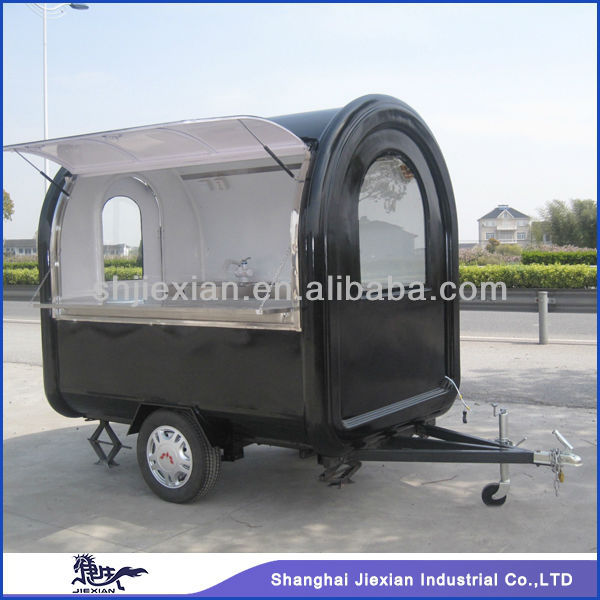 Shanghai 2016 JX-FR220B Customized mobile tornado potato food cart for sale