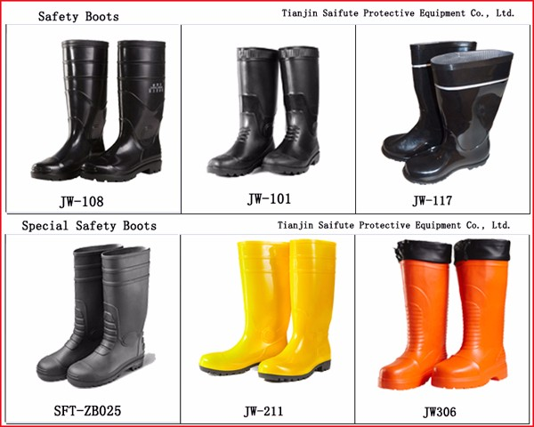 good quality cheap price steel toe and midsole safety boots