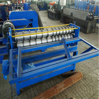 small simple galvanized stainless steel slitter and cutter slitting machine equipment