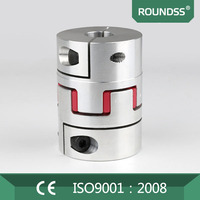 Roundss Standard 60mm Bore Spider Clamp Flexible Coupling for Rotary encoder