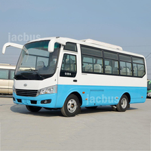 2018 New minibus model JAC brand 18 seats city bus with little money