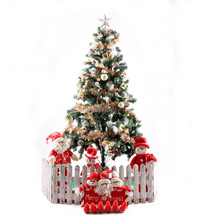 2016 5ft pvc artificial christmas tree with decorations