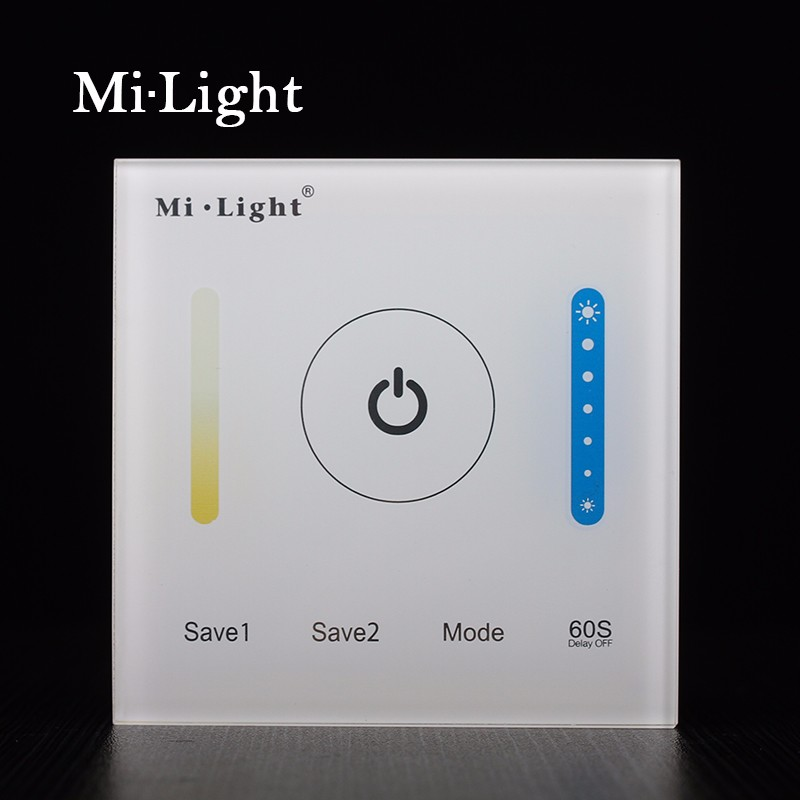 Milight P2 CCT Color temperature Smart Touch Panel LED Controller DC12V-24V