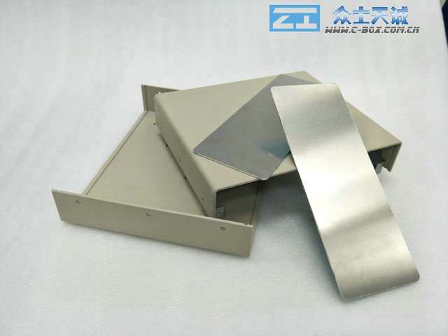 AL-2/95*245*220mm external dimension All-aluminum sheet metal chassis instrument case distribution box power box