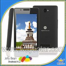 4.0inch android 4.4 dual sim 3g smart phone unlock phone