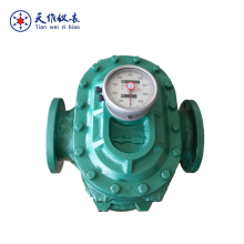 Diesel fuel PD flow meter/mechanical oil counter