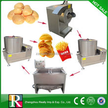 Professional electric automatic great quality potato chips processing plant