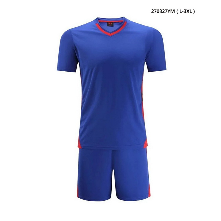 High Quality New Soccer Wear,Blue Color Football jersey Train Suits
