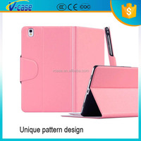 Multi-color brief design leather case for samsung galaxy tab 10.2